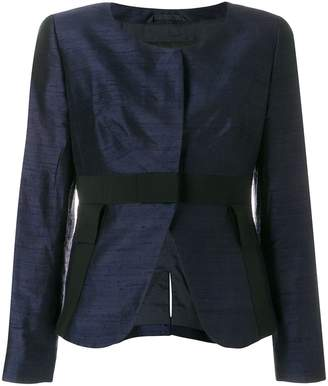 Giorgio Armani Pre-Owned open front collarless jacket