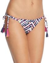 Becca by Rebecca Virtue Artisan Tasseled Bikini Bottom