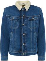 Lee Men's Denim sherpa jacket