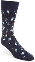 Paul Smith Men's Camo Leopard Socks