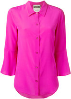 Moschino fluted sleeve blouse