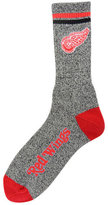 For Bare Feet Detroit Red Wings Heathered Crew Socks
