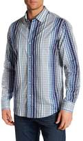 Tommy Bahama Silva Regular Fit Stripe Shirt