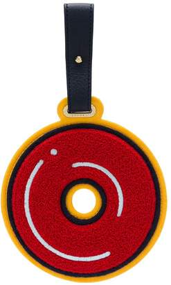 Chaos Letter O luggage tag