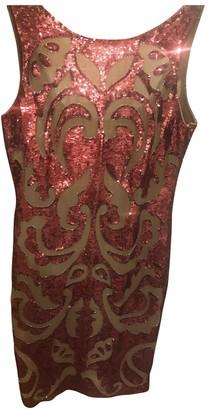 Needle & Thread Burgundy Glitter Dress for Women