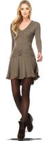 Max Studio Soft Jersey Long Sleeved Dress