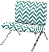 Monarch Teal Fabric Side Chair