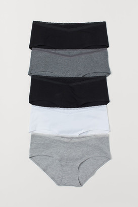 H&M MAMA 5-pack Hipster Briefs - Gray