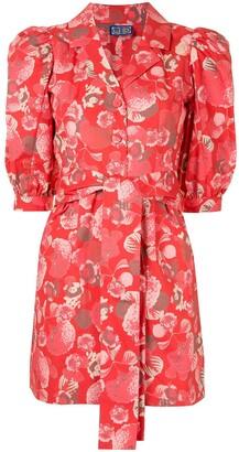 Lhd Casitas floral shirt dress