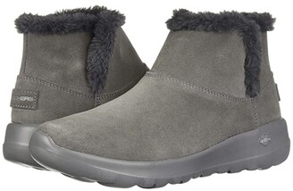 Skechers Performance On-The-Go Joy Bundle Up (Charcoal) Women's Boots