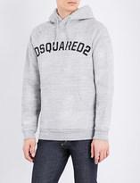 DSQUARED2 Brand-logo cotton-jersey hoody