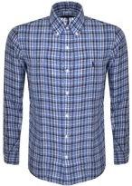 Ralph Lauren Checked Linen Shirt Blue