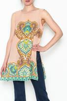 Ivy Jane Orange Print Tunic