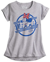 Disney Minnie Mouse Vintage Emblem Tee for Juniors