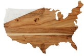 Thirstystone Usa Marble & Wood Serving Board