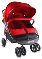 Joovy ScooterX2 Double Stroller in Red