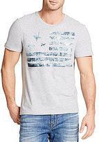William Rast Washed Flag Americana Short-Sleeve Graphic T-Shirt