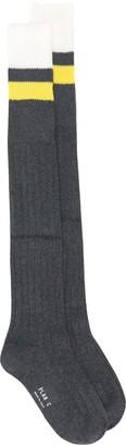 Plan C Stripe Socks