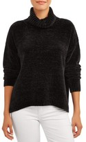 Time and Tru Women's Chenille Turtleneck