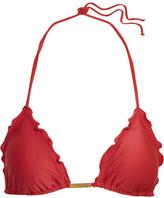 Vix Ruffled Triangle Bikini Top