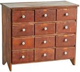 Rejuvenation Primitive 12-Drawer Cabinet
