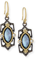 Armenta Old World Marquise Triplet Earrings