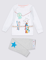 Marks and Spencer Cotton with Stretch Pyjamas (9 Mths-8 Yrs)