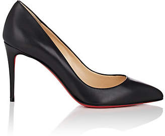 Christian Louboutin Women's Pigalle Follies Leather Pumps - Black