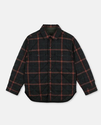 Stella Mccartney Kids Stella McCartney check cotton shirt