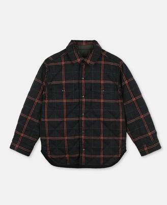 Stella Mccartney Kids Check Cotton Shirt, Men's