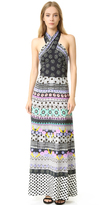 Temperley London Halter Neck Cherise Dress