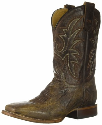 Roper Men's Pierce Western Boot Brown 10.5EE Wide US