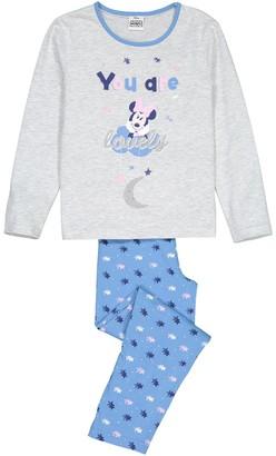 Minnie Mouse Printed Cotton Pyjamas, 5-12 Years