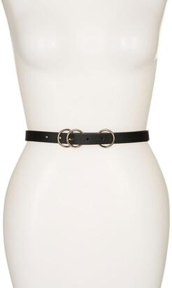 Linea Pelle Triple O-Ring Belt