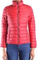 Invicta Women's Red Polyamide Down Jacket.