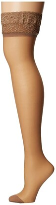 Bluebella Hold Ups Lace Top (Nude) Women's Pajama