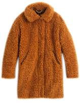 J.Crew Women's Teddy Faux Fur Coat