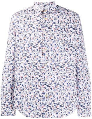 Paul Smith Liberty Floral long-sleeved shirt