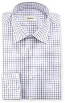 Neiman Marcus Tattersall Check Dress Shirt