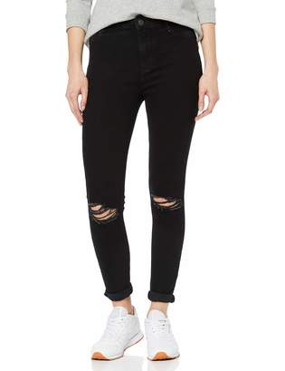 New Look Women's Rip Hallie Disco Skinny Jeans