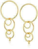 "Trina Turk Hollywood Hills"" Linear Link Drop Earrings"