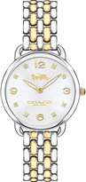Coach 14502784 Delancey Slim gold-plated stainless steel watch