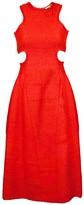 Carven Rafia Cutout Dress