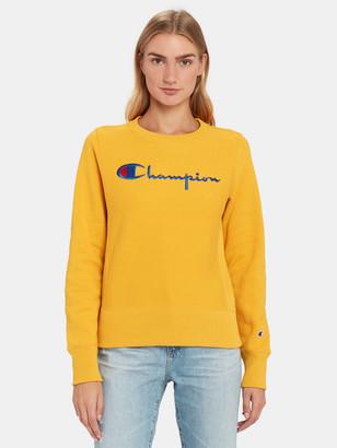Champion Reverse Weave Big Script Crewneck Sweatshirt