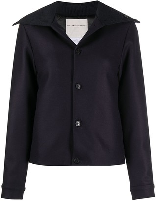 Stephan Schneider Single-Breasted Cropped Jacket
