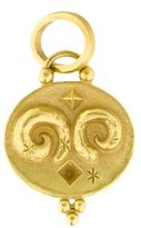 Temple St. Clair 18K Diamond Aries Zodiac Pendant