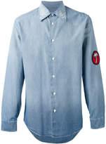 Marc Jacobs palm patch denim shirt