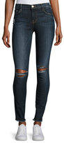Frame Le Skinny De Jeanne Raw-Edge Jeans, King's Imperial