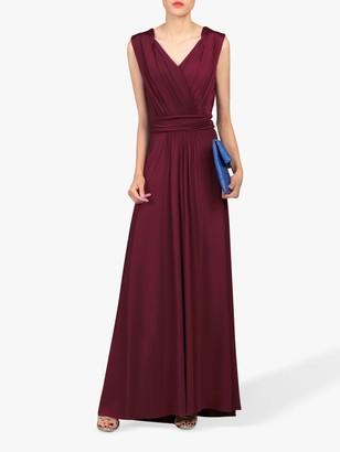 Jolie Moi Plunge Wrap Dress