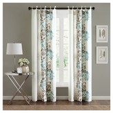 "Nobrand No Brand Ally Floral Printed Curtain Panel - Purple/Grey (50""x84"")"